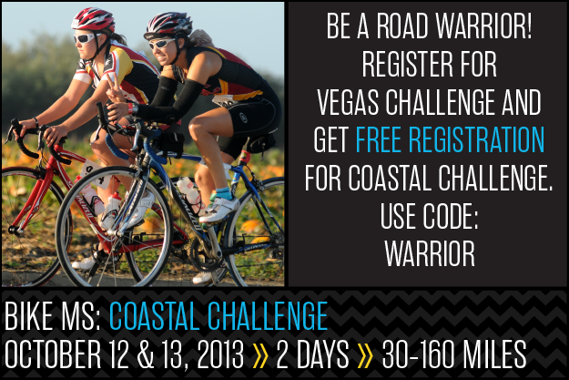 Bike MS Coastal Challenge Warrior